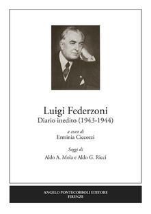 Diario inedito (1943-1944) - Luigi Federzoni - copertina