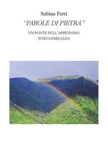 Parole di pietra. Un ponte sull'appennino tosco emiliano - Sabina Perri - copertina
