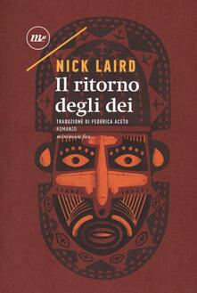 Il ritorno degli dei - Nick Laird - copertina