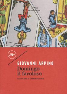 Domingo il favoloso - Giovanni Arpino - copertina