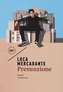 Presunzione - Luca Mercadante - copertina