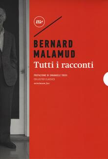 Tutti i racconti - Bernard Malamud - copertina