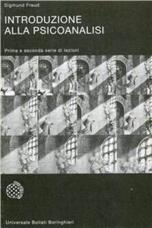 Introduzione alla psicanalisi - Sigmund Freud - copertina