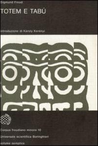 Libro Totem e tabù Sigmund Freud