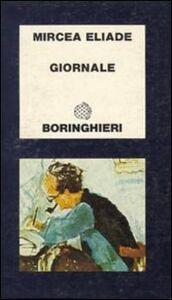 Libro Giornale Mircea Eliade