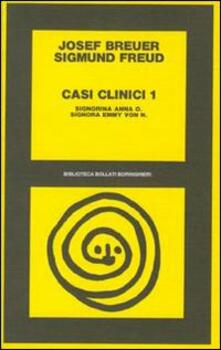 Tegliowinterrun.it Casi clinici. Vol. 1: Signorina Anna O.Signorina Emmy von N.. Image