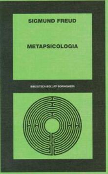 Metapsicologia - Sigmund Freud - copertina