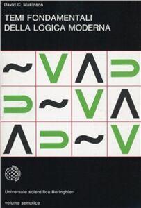 Libro Temi fondamentali della logica moderna David C. Makinson