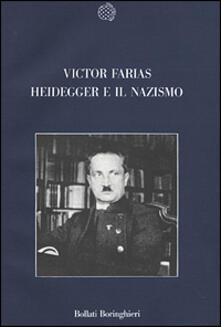 Heidegger e il nazismo - Victor Farias - copertina