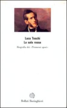 La sala rossa - Luca Toschi - copertina