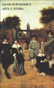 Libro Arte e storia Jacob Burckhardt