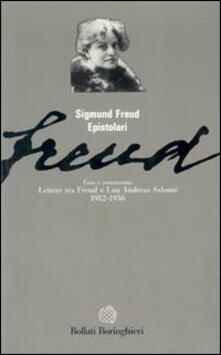 Lettere tra Freud e Andreas Salomé (1912-1936) - Sigmund Freud,Lou Andreas-Salomé - copertina