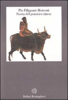 Storia del pensiero cinese - Pio Filippani-Ronconi - copertina