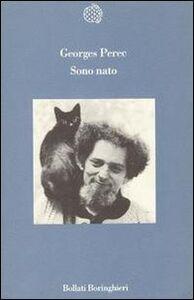 Libro Sono nato Georges Perec