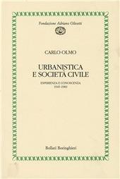 Urbanistica e società civile. Esperienza e conoscenza (1945-1960)
