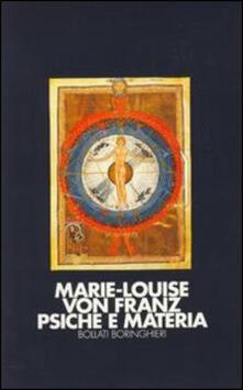 Psiche e materia - Marie-Louise von Franz - copertina