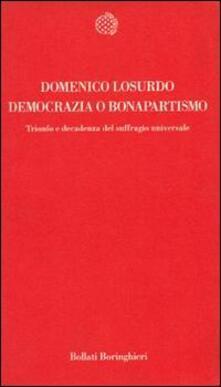 Tegliowinterrun.it Democrazia o bonapartismo. Trionfo e decadenza del suffragio universale Image