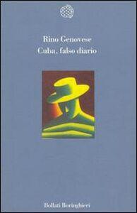Libro Cuba, falso diario Rino Genovese