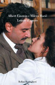 Libro Lettere d'amore Albert Einstein , Mileva Maric