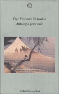Foto Cover di Antologia personale, Libro di P. Vincenzo Mengaldo, edito da Bollati Boringhieri