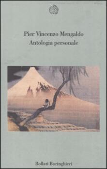 Antologia personale - Pier Vincenzo Mengaldo - copertina