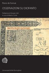Foto Cover di Osservazioni su Diofanto, Libro di Pierre de Fermat, edito da Bollati Boringhieri