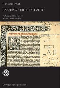 Libro Osservazioni su Diofanto Pierre de Fermat