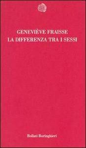 Libro La differenza tra i sessi Geneviève Fraisse