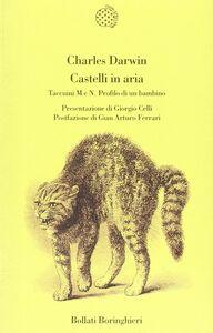 Libro Castelli in aria Charles Darwin