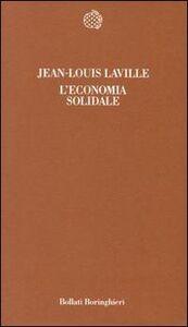 Libro L' economia solidale Jean-Louis Laville