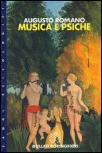 Libro Musica e psiche Augusto Romano