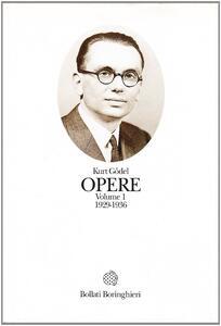 Opere. Vol. 1: 1929-1936.