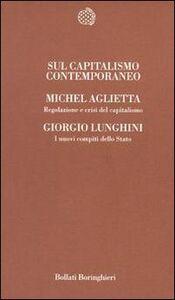 Libro Sul capitalismo contemporaneo Michel Aglietta , Giorgio Lunghini