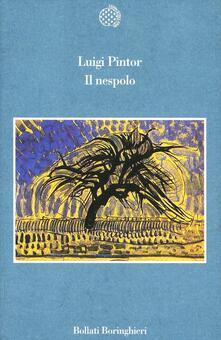 Il nespolo - Luigi Pintor - copertina