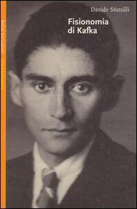 Foto Cover di Fisionomia di Kafka, Libro di Davide Stimilli, edito da Bollati Boringhieri