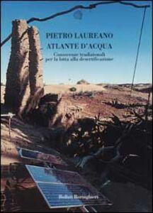 Foto Cover di Atlante d'acqua. Conoscenze tradizionali per la lotta alla desertificazione, Libro di Pietro Laureano, edito da Bollati Boringhieri
