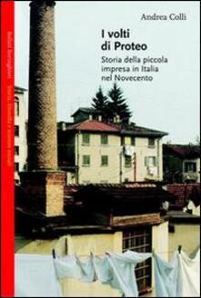 Writersfactory.it I volti di Proteo. Storia della piccola impresa in Italia nel Novecento Image