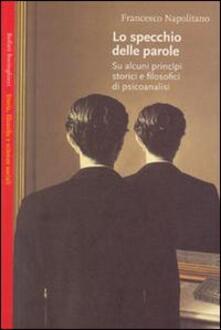 Lo specchio delle parole - Francesco Napolitano - copertina