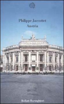 Austria - Philippe Jaccottet - copertina