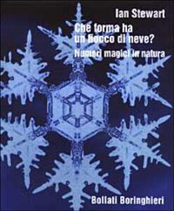 Libro Che forma ha un fiocco di neve? Numeri magici in natura Ian Stewart