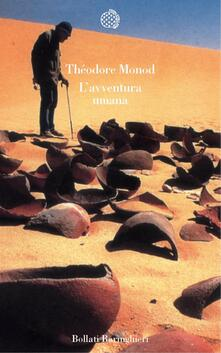 L' avventura umana - Théodore Monod - copertina