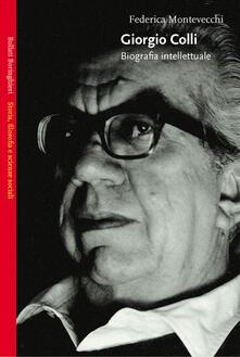 Camfeed.it Giorgio Colli. Biografia intellettuale Image