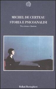 Storia e psicoanalisi. Tra scienza e finzione