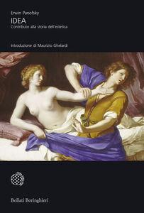 Libro Idea. Contributo alla storia dell'estetica Erwin Panofsky