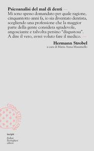 Libro Psicoanalisi del mal di denti Hermann Strobel