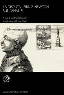 La disputa Leibniz-Newton sull'analisi - copertina