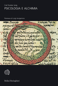 Psicologia e alchimia - Carl Gustav Jung - copertina