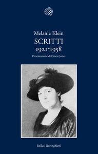 Libro Scritti 1921-1958 Melanie Klein