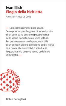 Elogio della bicicletta - Ivan Illich - copertina