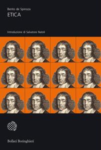 Etica dimostrata secondo l'ordine geometrico - Baruch Spinoza - copertina